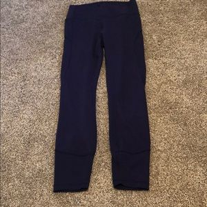 Lululemon leggings size 6 navy